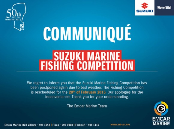 Suzuki Marine Fishing Competition