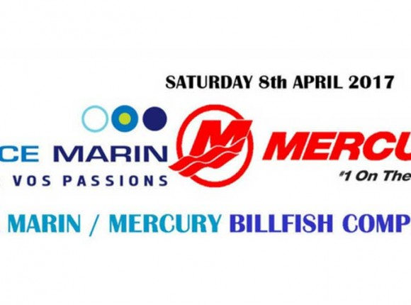 Espace Marin/Mercury National Deep Sea Fishing Competition 8th April 2017