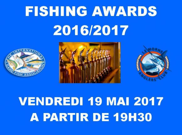 Fishing Awards 2016/2017